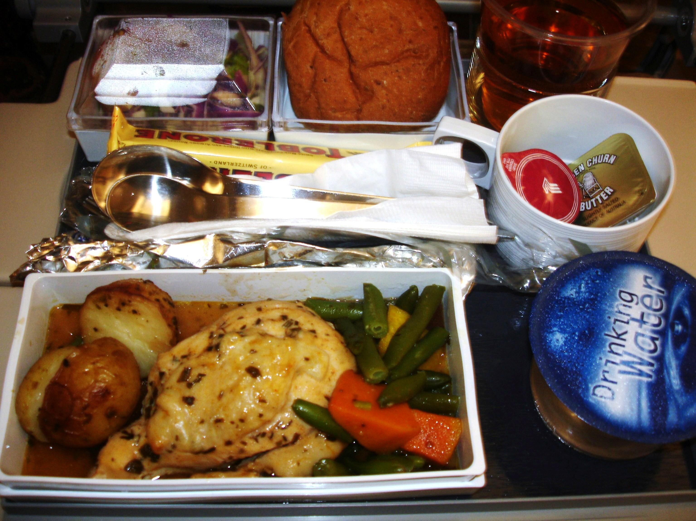 Singapore Airlines Food Menu